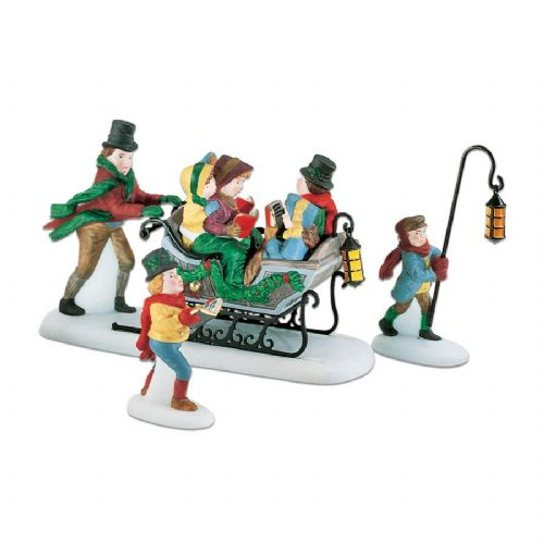 Department 56 Caroling with The Cratchit Family